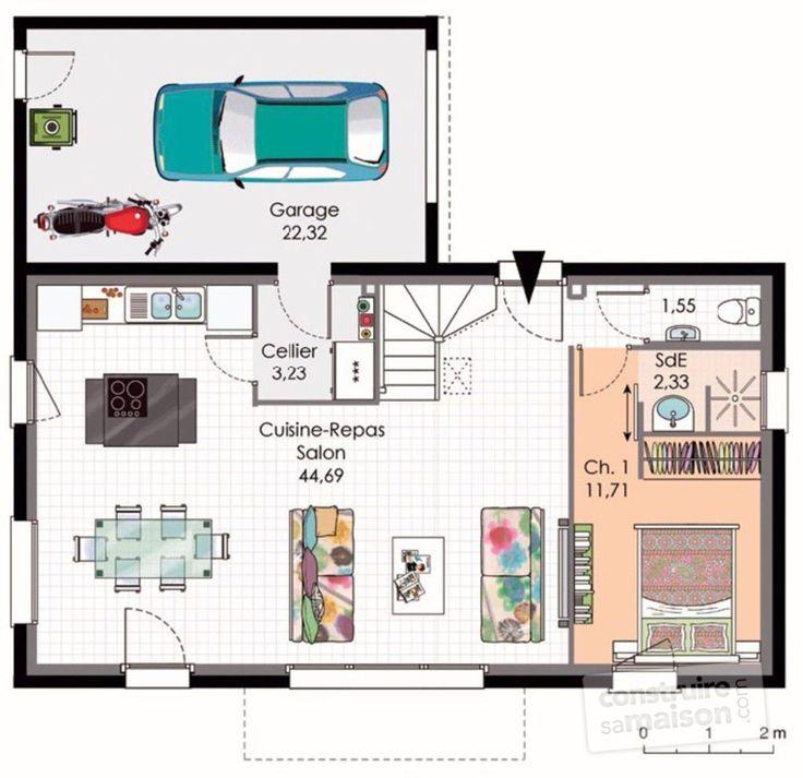 Prix Pour Construire Une Maison De M Latest Plan Gratuit Maison