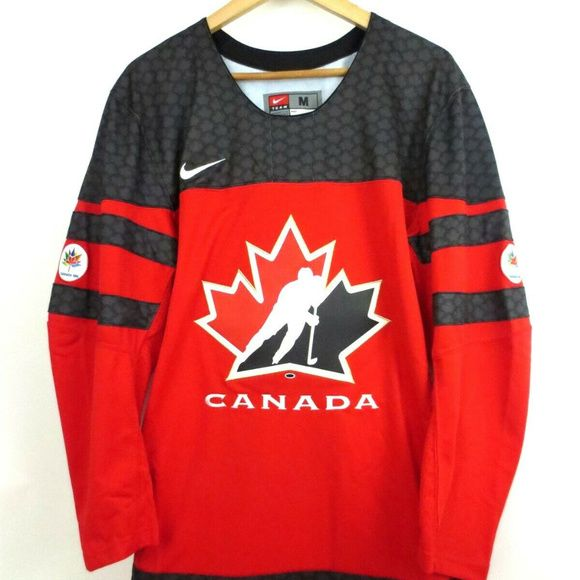 Team Canada 2018 Twill Olympic Black Hockey Jersey O Genuine Merchandise O Hockey Canada S 2016 Jerse Clothes Design Team Canada Sweatshirt Shirt