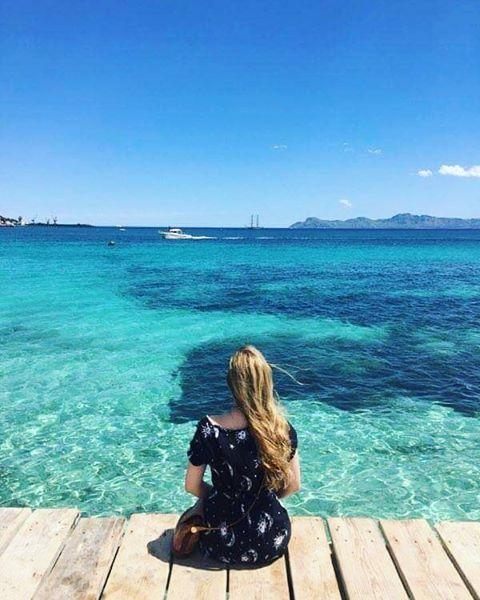 "31 Likes, 1 Comments - Helen Sherrard (@helensherrard77) on Instagram: ""☆★ Alcudia beach ★☆ #Alcudia #Mallorca #beach #ocean #sun"""