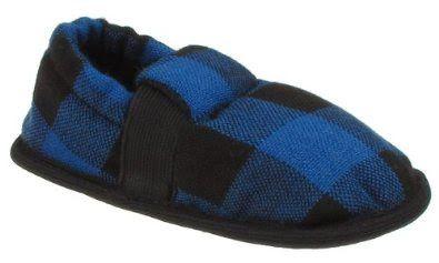 Pusat Sepatu Untuk Anak - Capelli New York Buffalo Plaid Moccasin Dengan Potong Balita Laki-laki Sandal Indoor | Pusat Sepatu Bayi Terbesar dan Terlengkap Se indonesia