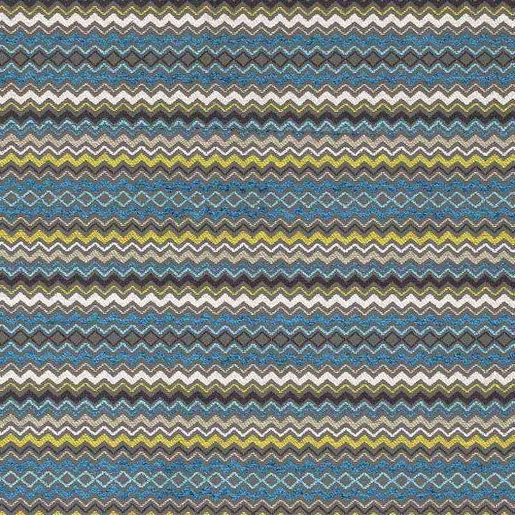 Warwick Fabrics : HAMMERSMITH, Colour OCEAN