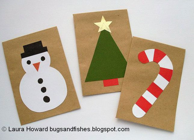Homemade Christmas Card Designs For Kids Quick Kid Friendly Diy