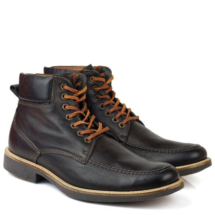 Black Boots - Bota Black Boots New King 9078 Anatomic Gel Mouro - BlackBoots