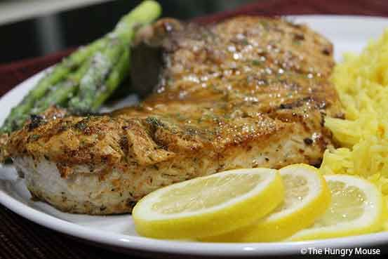 Pan-Seared Shark Steaks (Swordfish Alternative) | The Hungry Mouse