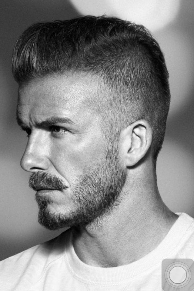 David Beckham's Hair style