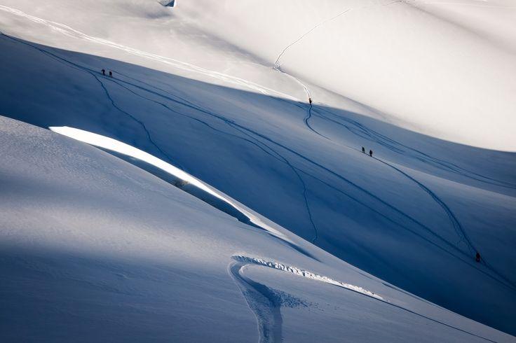 Vallee Blanche #mountains #landscape #climbing #adventure