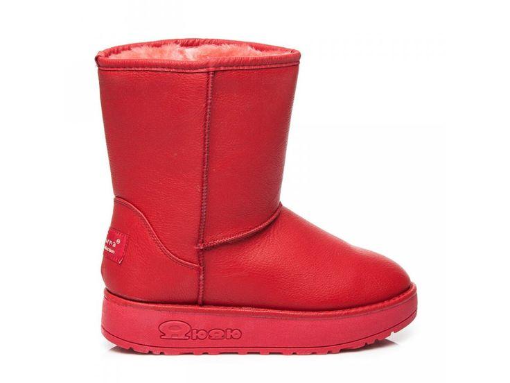 Červené snehule Estera 066R / S3-68P