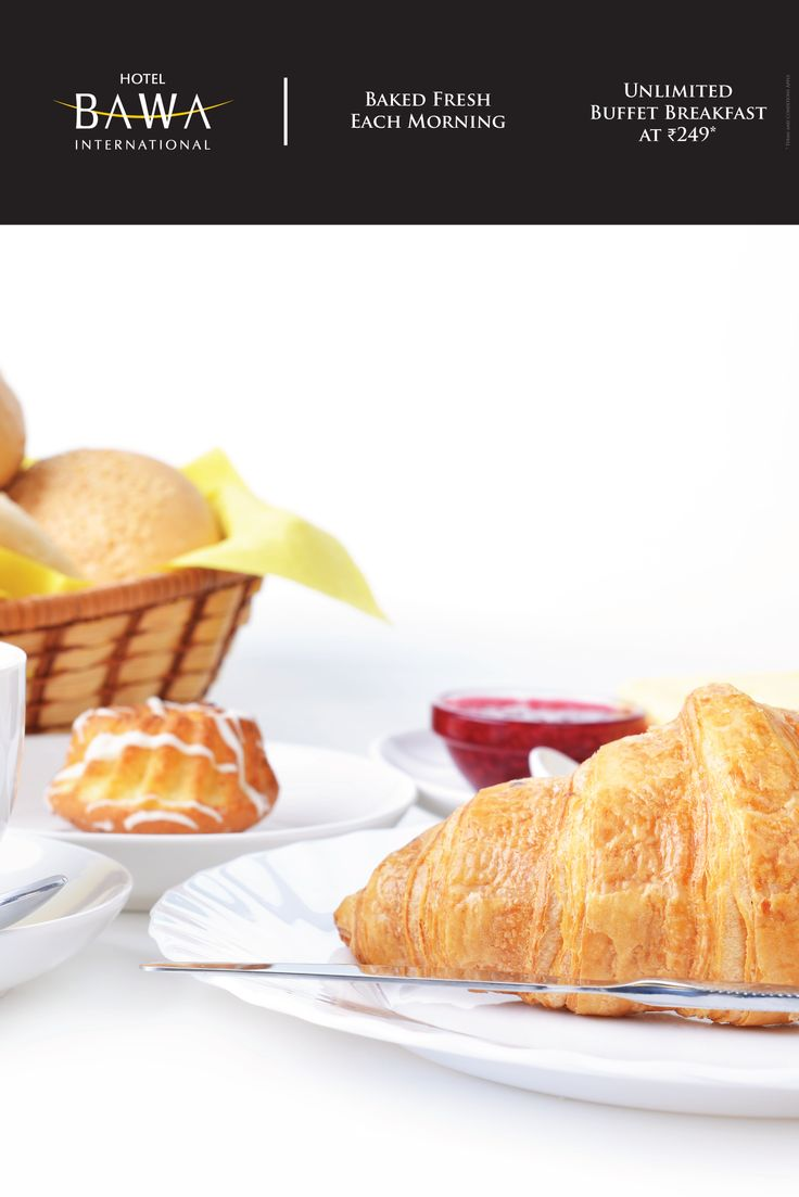 Start your day with a delicious breakfast buffet. Freshly baked goodies from our bakery and a lot more for as low as INR249.  ___________ Hotel Bawa International is premier hotel just a brisk 5 minute walk from the Mumbai Airport.