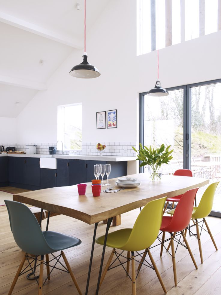 The Cob Near Bude Devon Sleeps 9 Cots Modern House Estate Agents Architect Designed Property For Sale In London And UK Eames DSW Chaises
