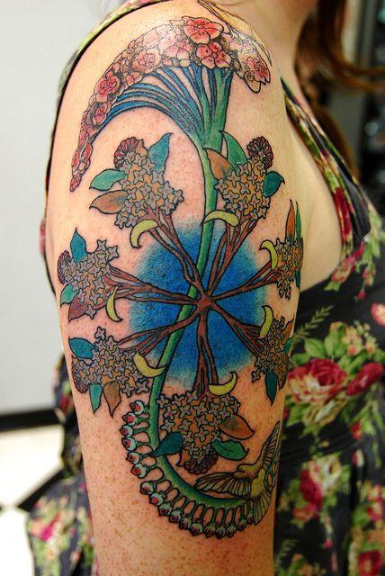 Art Nouveau Tattoo Design By Tegan Ray: 144 Best Art Nouveau Images On Pinterest