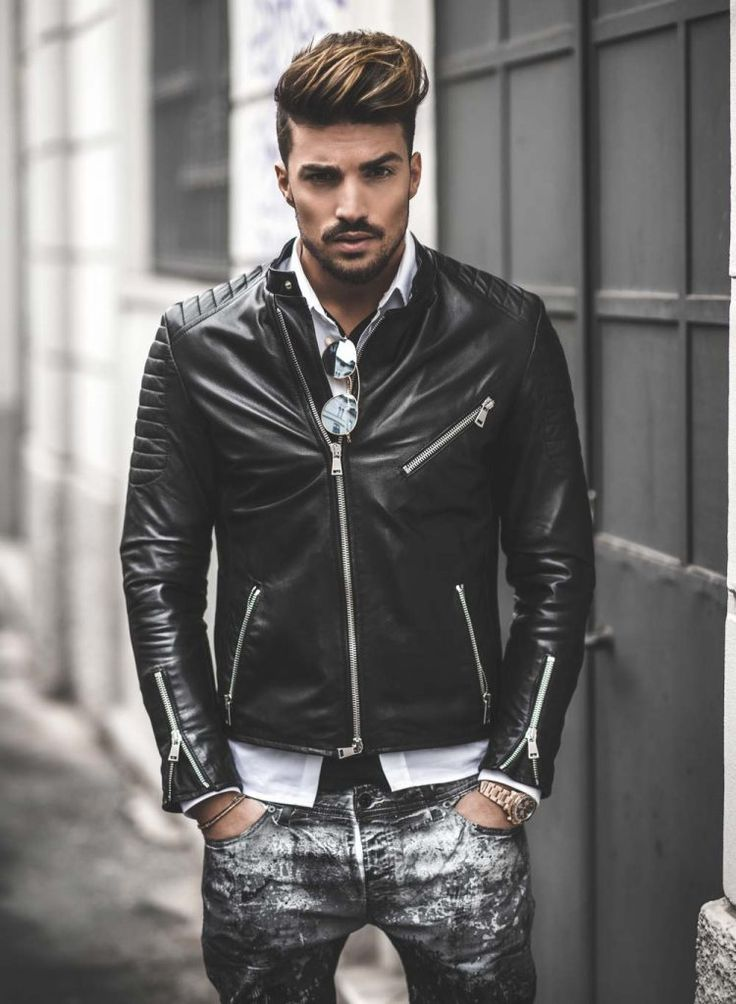 THE ULTIMATE GUIDE TO STREET STYLE FOR MEN http://www.99wtf.net/men/style-medium-length-hairstyles-men/