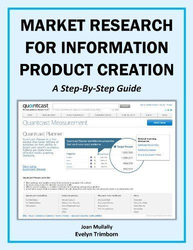 Market Research For Information Product Creation: A Step-By-Step Guide (Marketing Matters) by Evelyn Trimborn. $3.28