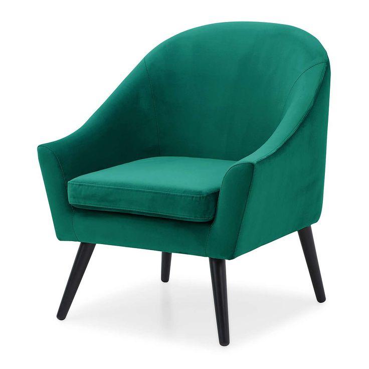 Holly Emerald Styled Tub Chair