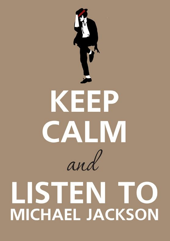 Can't really keep calm when I listen to his music...I mostly feel like dancing like an idiot haha