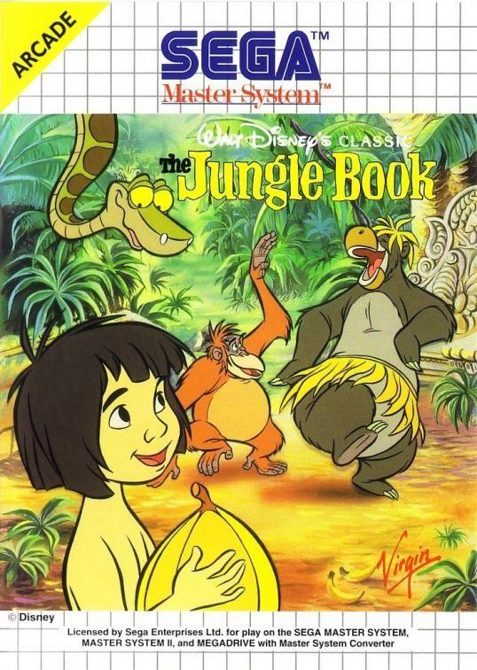 The Jungle Book - #MasterSystem - Recensioni, news e speciali sul #retrogaming   Retrogaminghistory.com #disney