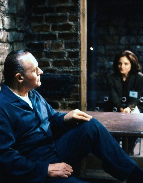 Anthony Hopkins & Jodie Foster