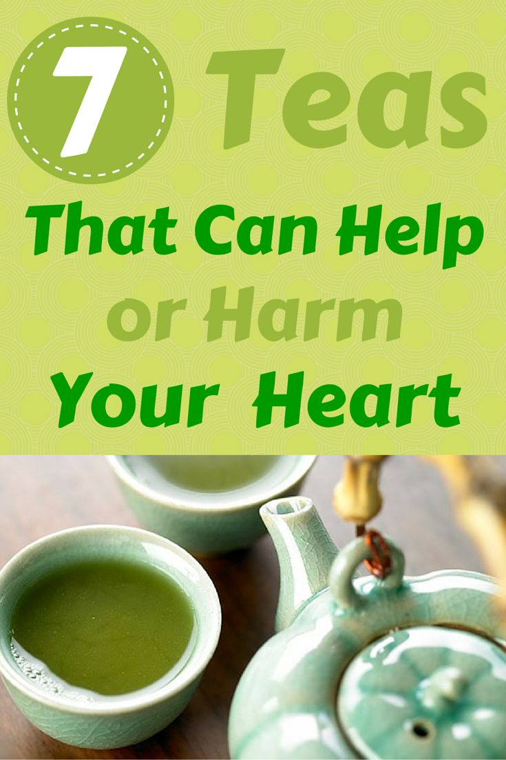 7 Teas That Can Help or Harm Your Heart - When it comes to health benefits, the type of tea you drink matters #tea #heart #health | everydayhealth.com