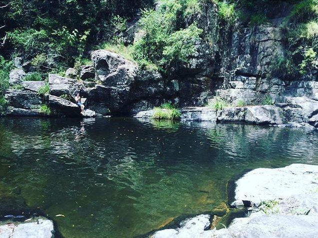 Best watering holes near Brisbane waterfalls swimming