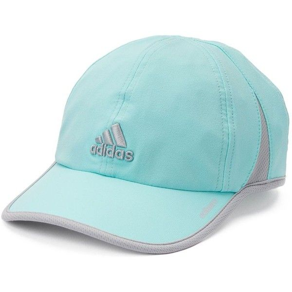Women's Adidas Adizero II Relaxed Baseball Cap ($19) ❤ liked on Polyvore featuring accessories, hats, ball cap hats, baseball hats, upf hats, ball cap and adjustable hats