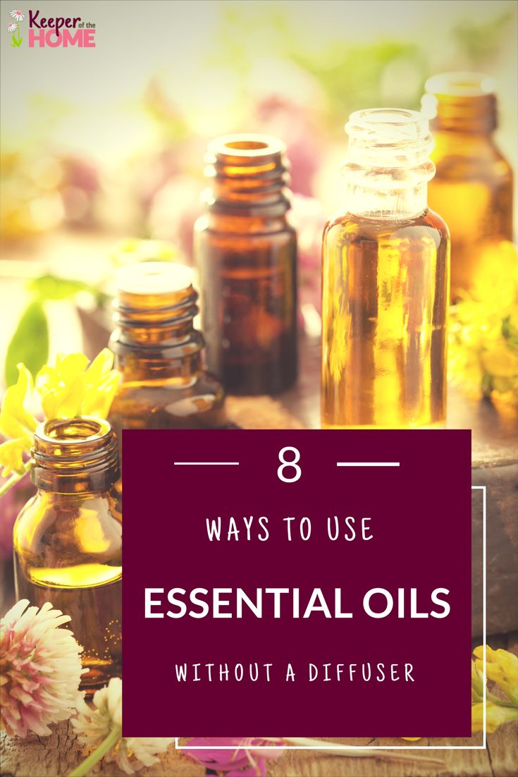 8 Ways to Use Essential Oils Without a Diffuser (perfect ideas for an essential oil beginner). #essentialoils #naturalliving