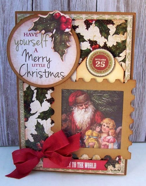 Using Yuletide Collection from Kaisercraft
