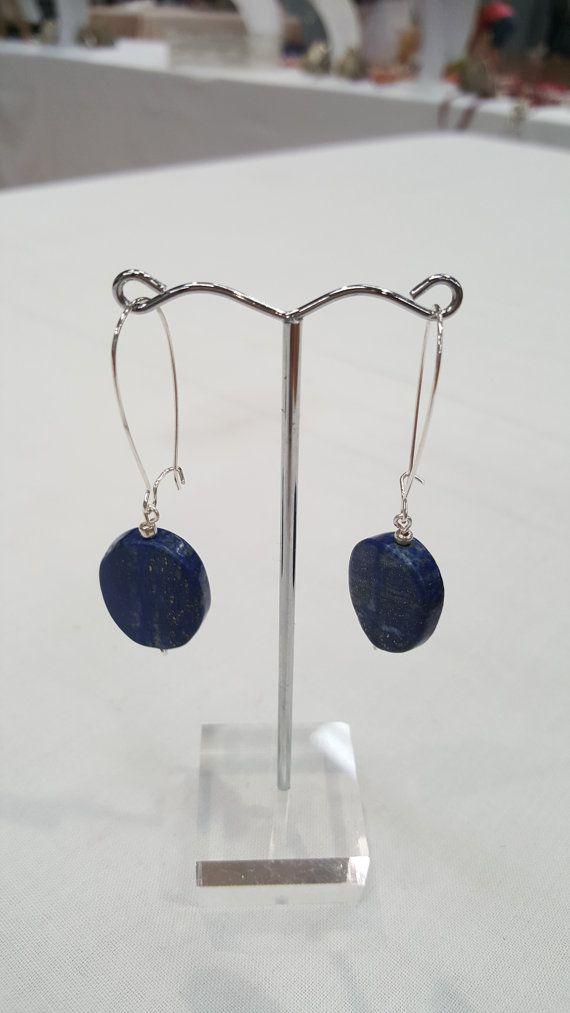 Lapis lazuli earrings at  https://www.etsy.com/au/listing/250243636/lapis-lazuli-handmade-earrings-silver