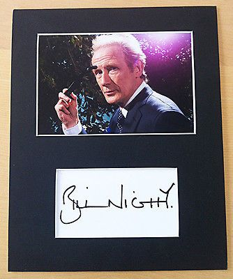 Bill #nighy #signed #autograph mounted with photo harry potter dad's army pirates,  View more on the LINK: http://www.zeppy.io/product/gb/2/162272976454/