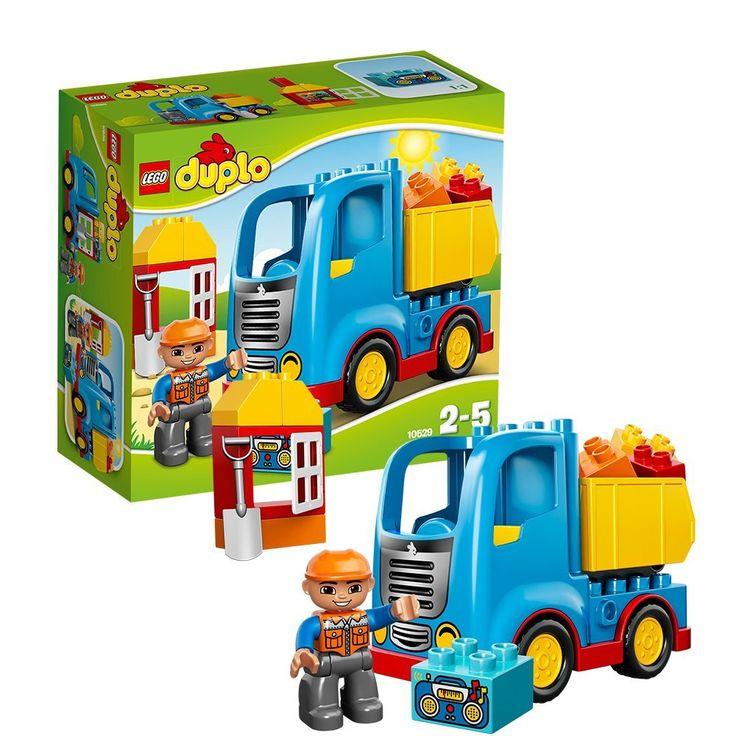 Lego Duplo: Truck (10529)  Manufacturer: LEGO Enarxis Code: 012166 #toys #lego #duplo