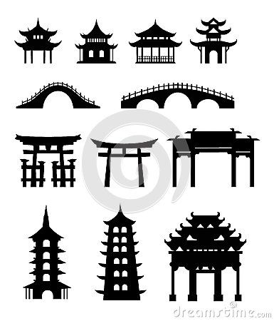 Edificios tradicionales chinos
