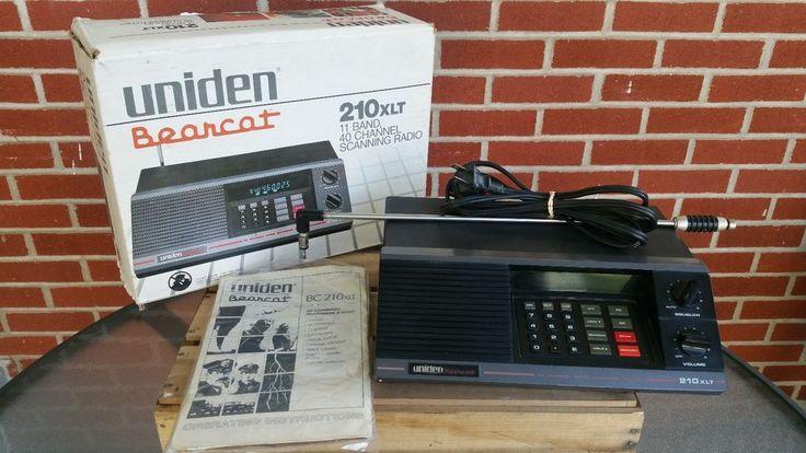 Uniden Bearcat 40 Channel 11 Band Police Weather Emergency Scanner 210XLT Works | eBay