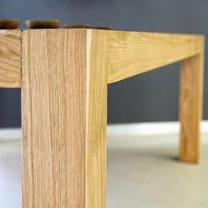 Tavolo in legno grezzo 45 by Aguzzoli A-Production