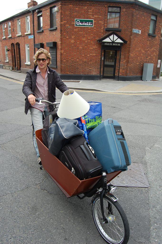 Bakfiets delivery bike