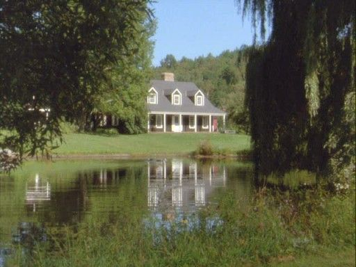 This house is from the movie Funny Farm. I fell in love with this house when I saw the movie!