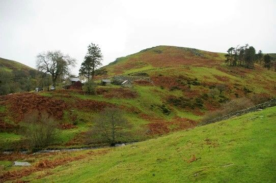 Tussen Engeland en  (Noord)Wales bij Oswestry