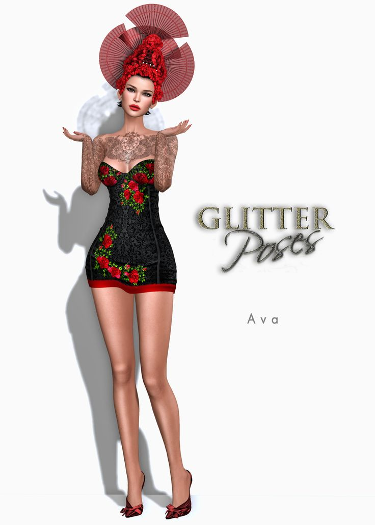 Glitter Fashion & GLITTER Poses Store http://maps.secondlife.com/secondlife/Misty%20Mountain%20S/25/194/995