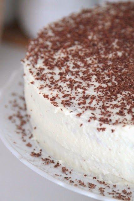 rêve de vivre: Čokoládová torta so šľahačkovým krémom