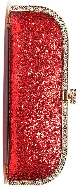 Glitter Clutch ~ celebrating New Years by posting glitter shoes and accessories…