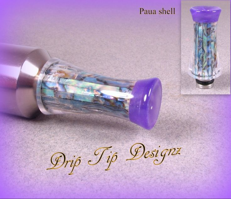 Resin Drip Tips - Drip Tip Designz
