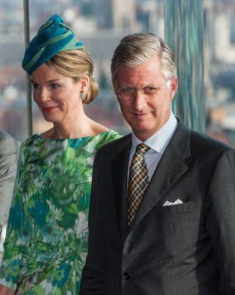 Queen Mathilde, September 27, 2013   The Royal Hats Blog