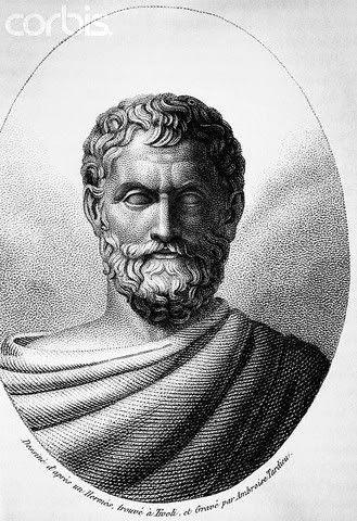 Tales de Mileto (Mileto, 625/624 a. C. - ibídem, 547/546 a. C.) fue un filósofo, matemático, geómetra, físico y legislador griego.. Fue el iniciador de la Escuela de Mileto a la que pertenecieron también Anaximandro (su discípulo) y Anaxímenes (discípulo del anterior). En la antigüedad se le consideraba uno de los Siete Sabios de Grecia. No se conserva ningún texto suyo y es probable que no dejara ningún escrito a su muerte.