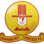 BANBURY UNITED FC    -  BANBURY - oxfordshire-