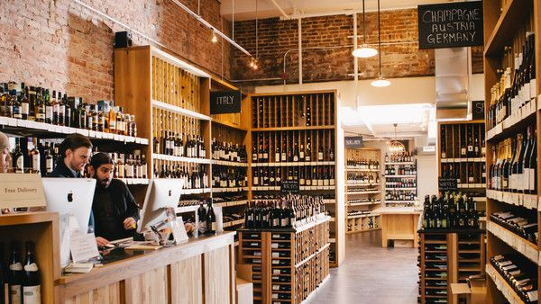 Flat Iron Wines  Spirits shop, plus other top natural wine shops to try.