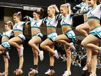 Great White Shark Cheer Teammate | ... on Pinterest | Cheer extreme, Maddie gardner and Cheerleading
