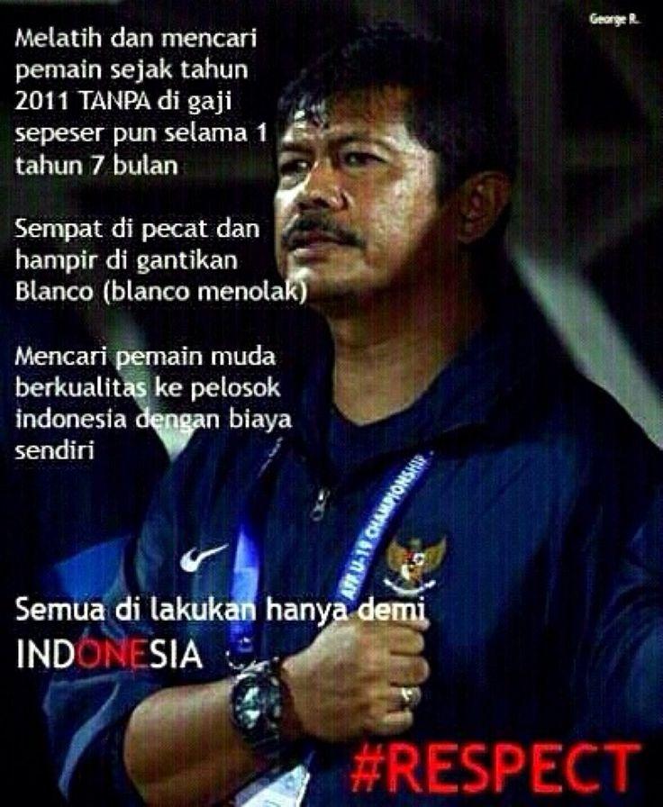 Pelatih Timnas Sepakbola U19 Indonesia, Indra Sjafri #Respect #Sepakbola