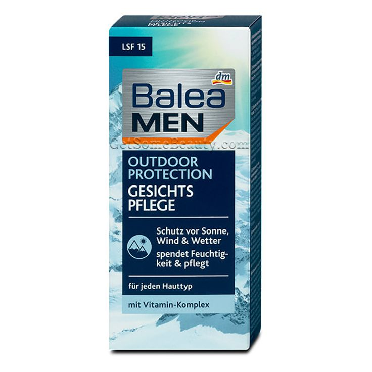 Balea MEN Face Care Outdoor Protection 75 ml | Get Some Beauty