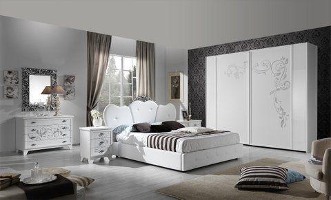 Camera da letto Contemporanea  armadio 2 ante scorrevoli letto contenitore come da proposta fotografica.  special price..€. 2.490,00