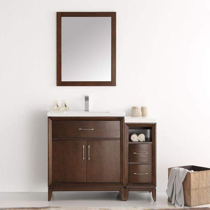 Fresca Cambridge 42 inch Traditional Single Bathroom Vanity FVN21-3012