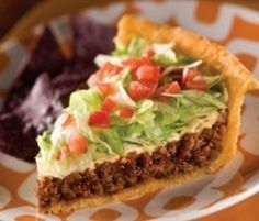 Here's a great idea for an old favourite! You won't be able to stop at just one slice of this delicious Taco Pie and you'll also love the Dorito Chicken Casserole.