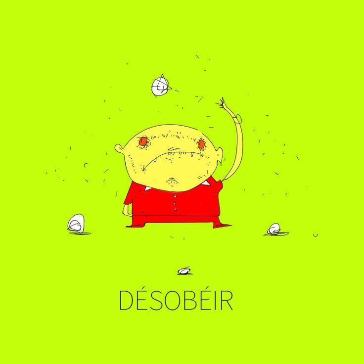 """Consulta mi proyecto @Behance: """"DÉSOBÉIR"""" https://www.behance.net/gallery/42705257/DESOBEIR"""