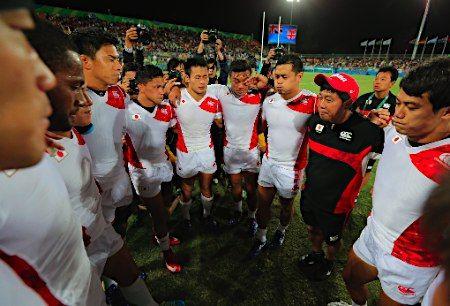 敗れたラグビー日本チーム :フォトニュース - リオ五輪・パラリンピック 2016:時事ドットコム